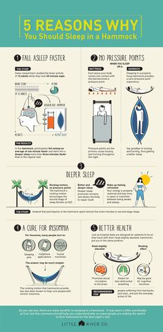 5 Reasons Why You Should Sleep In A Hammock | Little River Co.