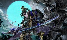 ArtStation - Sevenknights-Title illust, ryunkyung Oh Fantasy Weapons, Fantasy Warrior, Fantasy Art, Seven Knight, Knight Art, Fantasy Characters, Anime Characters, Anime Guys, Game Art