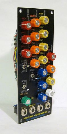 Thomas Henry Mega Percussion Synthesizer profile by sduck409, via Flickr