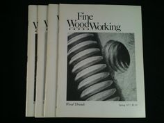 Vintage Fine WoodWorking Magazines Lot 4 1977 Back by RHWTreasures, $29.95