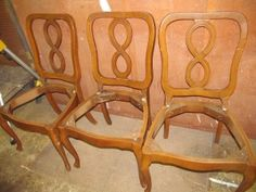 French Provincial Chairs   Before. Table And ChairsDining ...