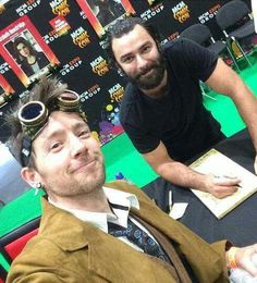Always the best to his fans - Aidan Turner