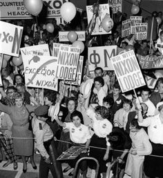 A look back • Kennedy and Nixon got up close with supporters in St. Louis