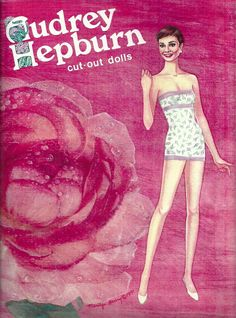 Audrey Hepburn paper doll / eBay