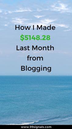 How I Made $5148.28 Last Month Last Month, Affiliate Partner, Growth Hacking, Influencer Marketing, Hustle, Blogging, November, Social Media, Tips