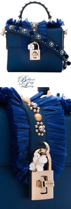Brilliant Luxury by Emmy DE ♦ Dolce & Gabbana Embellished Box Tote