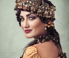 Kurdish Singer Helan Abdullah, from Dohuk