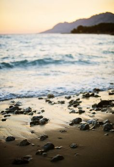 Dugi Rat Beach, Brela, Croatia