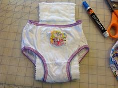 Dizzy Design Studio: DIY toddler training pants