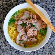 Vietnamese Pork Noodle Soup.