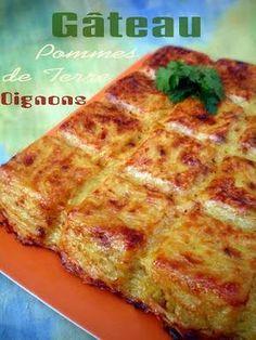 Pourquoi se priver quand c'est bon et léger?: Gâteau de pommes de terre aux oignons allégé (4.5 pts ww)