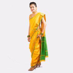 Nauvari saree - Pesquisa Google