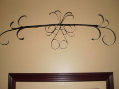 One Simple Country Girl: Faux Iron Wall Art For Less Than $1