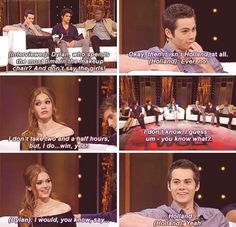 Two And A Half, Teen Wolf Cast, Interview, It Cast, Sayings, Movie Posters, Movies, Lyrics, Film Poster