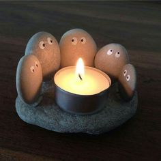 little rock candle holder is perfect for any summer night or even your livi. This little rock candle holder is perfect for any summer night or even your livi. - -This little rock candle holder is perfect for any summer night or even your livi. Cute Crafts, Diy And Crafts, Crafts For Kids, Arts And Crafts, Crafts To Make And Sell Easy, Easy Gifts To Make, Handmade Crafts, Cute Diys, Kids Diy
