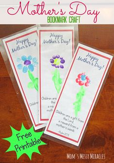 Free Printable Bookmark Craft for Mother's Day Family Christian has something for every mom on your list for Mother's Day. We have a free printable for you to make an easy bookmark craft for Mom, too! Easy Mother's Day Crafts, Mothers Day Crafts For Kids, Fathers Day Crafts, Toddler Sunday School, Sunday School Crafts, Toddler Crafts, Preschool Crafts, Preschool Ideas, Mother's Day Activities