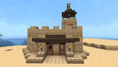 Small fortified desert house