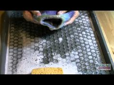 ▶ Wet Felting Over a Resist Tutorial - Part 2 - YouTube