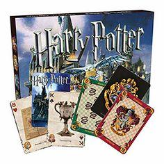 Harry Potter Matchbox Playing Card Set | ThinkGeek