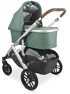 UPPAbaby Bassinet Leather Handle, Real Leather, Convertible Stroller, Buggy, Three Kids, Kids Wear, Bassinet, Baby Car Seats, Baby Strollers