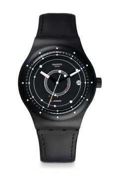 La montre SISTEM51 Black de Swatch http://www.vogue.fr/vogue-hommes/montres/diaporama/la-montre-sistem51-black-de-swatch/18468