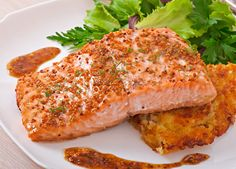 Salmon helps keep inflammation down and ward off Alzheimer's disease.