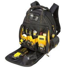 DEWALT-DGL523 | Acme Tools Tool Backpack, Pocket Light, Tool Storage, Low Lights, Working Area, Backpacks, Tools, Bags, Handbags