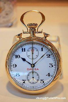 1932 Olympic chronograph pocketwatch