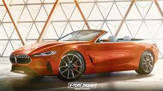 BMW 8 Series Concept Already Rendered in Convertible Guise - http://www.bmwblog.com/2017/05/26/bmw-8-series-concept-already-rendered-convertible-guise/