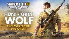 Sniper Elite III teaser trailer show off per-order bonus mission