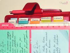 What's in my Filofax (Day Planner)   Shopaholics Anonymous   Blog