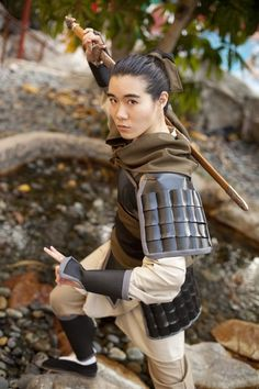 #Mulan. I mean, Ping cosplay! that's new.  haven't seen that before.