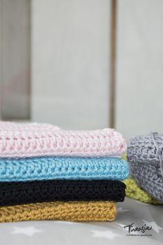 D I Y Virkattuja tiskirättejä. Crochet dishcloth. #virkkaus #puolipylväs…