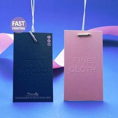[ Embossed Swing Tags ] Embossed Finish & Its Debossed Effect on The Other Side Can Have Gorgeous Look ! #fastprinting #sydney #newyork #london #melbourne #swingtag #card #printing #paper #foil #embossed #sticker #label #packaging #packagingdesign #design #graphicdesign #designer #graphicdesigner #wedding #weddinginvite