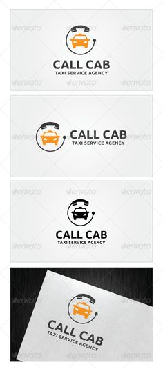 Buy Call Cab Logo Template by on GraphicRiver. Call Cab Logo Template Re sizable Vector EPS and Ai PSD Color customizable Fully editable Free font used: . Cleaning Business Cards, Free Business Card Templates, Free Business Cards, Logo Templates, Design Taxi, Logo Design, Transportation Logo, Free Logo Psd, Logo Simple