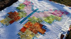 Green Fairy Quilts -- Butterfly Quilt The Quilting is Amazing!  She's so talented!