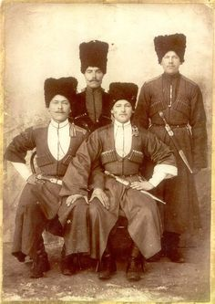 Cossacks And Caucasians Back Then - English Russia Old Photographs, Old Photos, Cossack Hat, Mother Courage, Vintage Gentleman, Imperial Russia, The Old Days, World War One, Historical Costume