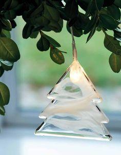 albero natale decorazione vetro