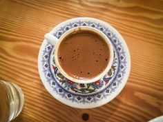 """6 Beverages of Turkey That You Should Taste - from blog - Turkey HomesAdmittedly not every foreigner enjoys Turkish coffee. A Turkish proverb says that coffee should be """"black as hell, strong as death, and sweet as love"""" and this accurately reflects the thick grainy texture of the coffee served in small cups."""