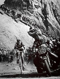 Fabbrica della Bici — tourmalet: Jacques Anquetil on the Tourmalet...