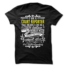 I am a Court Reporter