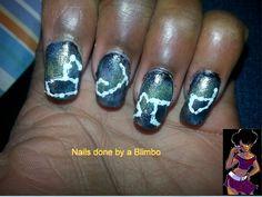 OMD 31 day nail art challenge Day 13 -Stars Leo,Scorpio,Aquarius, and  Capricorn
