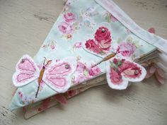 Personalised Hand Embroidered Butterfly Themed by DandyLane, £91.00