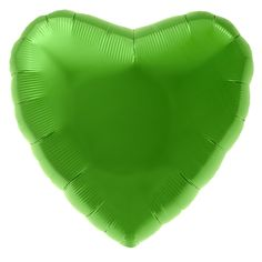 Folienballon in Herzform, ca. 45 cm Durchmesser.