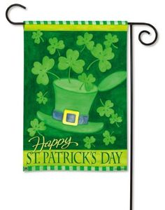 St. Patrick's Day Garden Flag | Decor for the Holidays