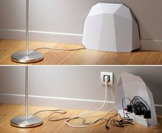 innovative power strip with protective cover - Interestings