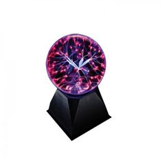 Plasma Ball - Responds To Touch #giftsforwomen #gifts #plasmaball #respondstotouch #lights