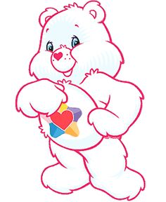 vintage true heart care bear