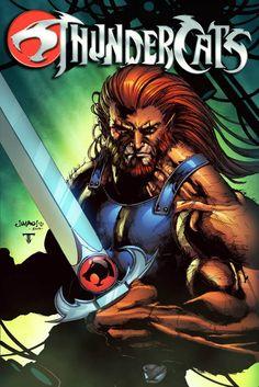 cartoons icons Thundercats - Lion-O - Jimbo Salgado, Colours by Juan Fernandez Comic Book Characters, Comic Books Art, Comic Art, Cartoon Posters, Cartoons, Animated Icons, Hobgoblin, Pop Culture Art, Bad Cats