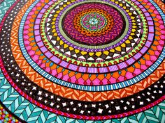 ColourCIRCLEmandala6 by Hello Angel Creative, via Flickr